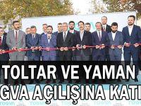 Toltar ve Yaman TÜGVA açılışına katıldı