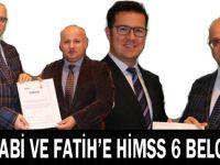Farabi ve Fatih'e HİMSS 6 Belgesi