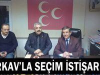 TÜRKAV'la seçim istişaresi