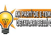 AK Parti'de e-temayül detayları belli oldu