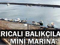 Darıcalı balıkçılara 'Mini Marina'