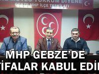 MHP Gebze'de istifalar kabul edildi