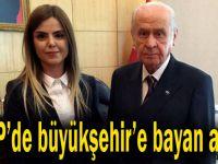 MHP'de kadın büyükşehir adayı