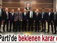 AK Parti'de beklenen karar çıktı
