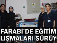 Farabi'de Eğitim çalışmaları sürüyor