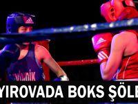Çayırova'da boks şöleni