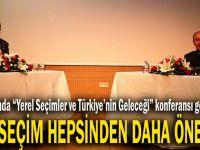 Dilovası'nda ''Yerel Seçimler ve Türkiye'nin Geleceği'' konferansı gerçekleşti