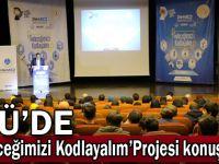 GTÜ'de 'Geleceğimizi Kodlayalım Projesi'' konuşuldu