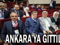Ankara'ya gittiler