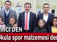 Demirci'den 44 Okula Spor Malzemesi Desteği