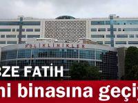 Gebze Fatih yeni binasına geçiyor