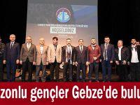 Trabzonlu gençler Gebze'de buluştu