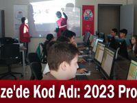 Gebze'de Kod Adı: 2023 Projesi