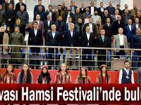 Dilovalılar Hamsi Festivali'nde buluştu