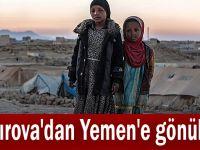 Çayırova'dan Yemen'e gönül eli!