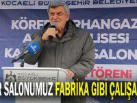 Karaosmanoğlu, ''Spor salonumuz fabrika gibi çalışacak''