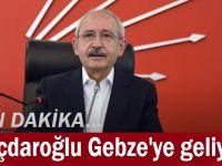 Kılıçdaroğlu Gebze'ye geliyor!