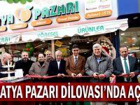 Malatya Pazarı Dilovası'nda açıldı