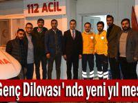 AK Genç Dilovası'nda yeni yıl mesaisi