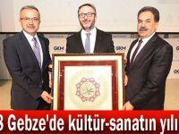2018 Gebze'de kültür-sanatın yılı oldu