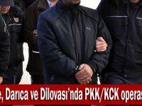PKK/ KCK operasyon 7 gözaltı