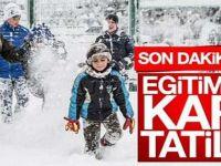 Vali Aksoy açıkladı! Yarın o okullar tatil...