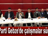AK Parti Gebze'de çalışmalar sürüyor