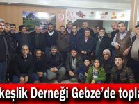 Türkkeşlik Derneği Gebze'de toplandı