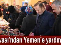 Dilovası'ndan Yemen'e yardım eli!