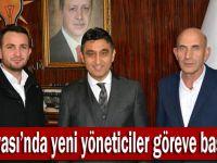 AK Dilovası'nda yeni yöneticiler göreve başladı