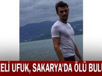 Gebzeli Ufuk, Sakarya'da ölü bulundu