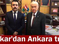 Şakar'dan Ankara turu