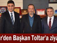 Şayir'den Başkan Toltar'a ziyaret