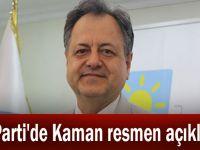 İYİ Parti'de Kaman resmen açıklandı