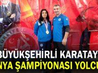 Büyükşehirli Karatay, dünya şampiyonası yolcusu