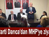 AK Parti Darıca'dan MHP'ye ziyaret