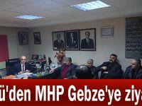 Ünlü'den MHP Gebze'ye ziyaret