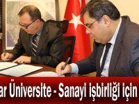 İmzalar Üniversite - Sanayi işbirliği için atıldı
