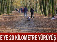 Gebze'ye kilometre yürüyüş yolu
