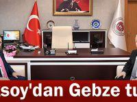 Aksoy'dan Gebze turu