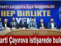 AK Parti Çayırova istişarede bulundu