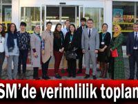 ADSM'de verimlilik toplantısı
