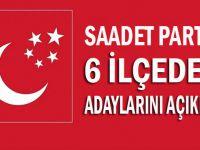 SP'nin 6 ilçedeki adayları açıklandı
