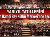 Yarıyıl tatilini Osman Hamdi Bey Kültür Merkezi'nde geçirdiler