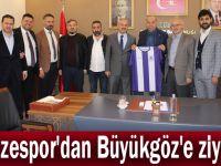 Gebzespor'dan Büyükgöz'e ziyaret
