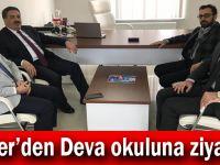 Güler'den Deva okuluna ziyaret