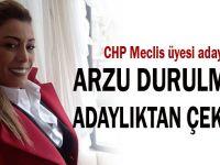 CHP Darıca Belediye Meclis Üyesi Adaylığından çekildi