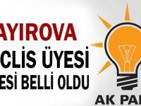 Çayırova meclis üyesi listesi belli oldu