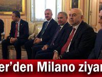 Çiler'den Milano ziyareti