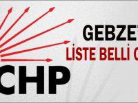 İşte Gebze Belediye Meclis Üyesi adayları